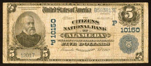 1622: California    Alameda,CitizensNB,P10150    F