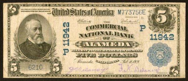 1623: California    Alameda,CommercialNB,P11942