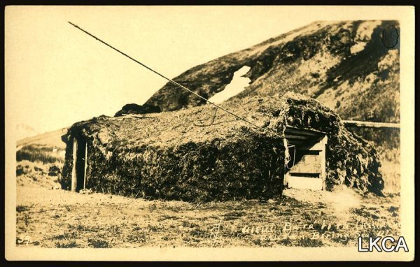 1456:     RPPCSodHouse,AleutianIsland,BeringStrai