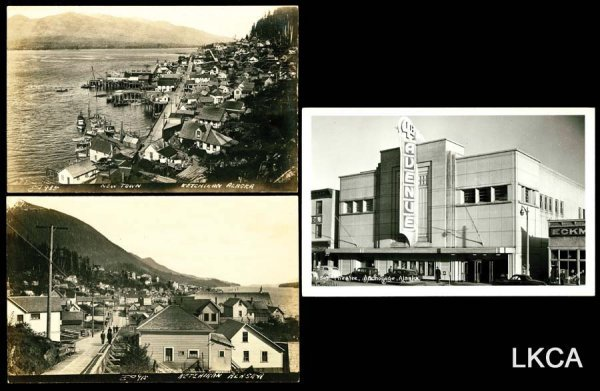 1457:     Alaska Real Photo    Great early views includ