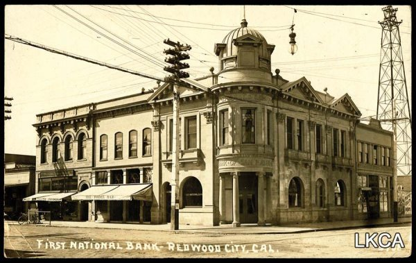 1460:     RPPC Redwood City, CA, First National Bank, B
