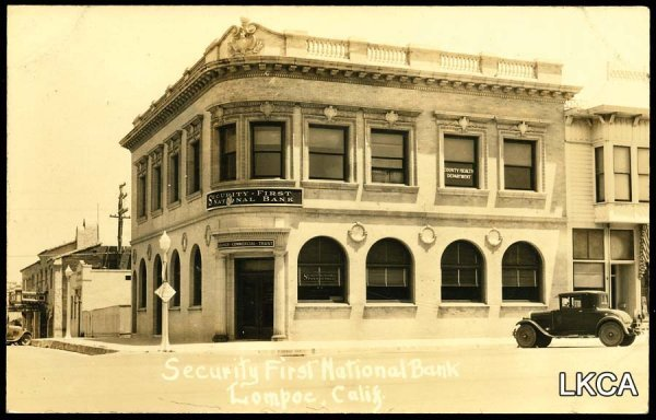 1461:     RPPC Lompoc, CA, Security First National Bank