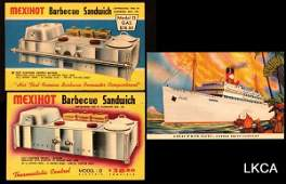 2788: Barbecue Cookers, United Fruit Co. Advertisin