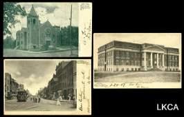3272: Oklahoma Territory Postcards All views of