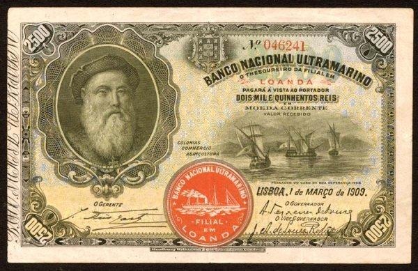 1008: Angola, BancoNacionalUltramarino, 292500