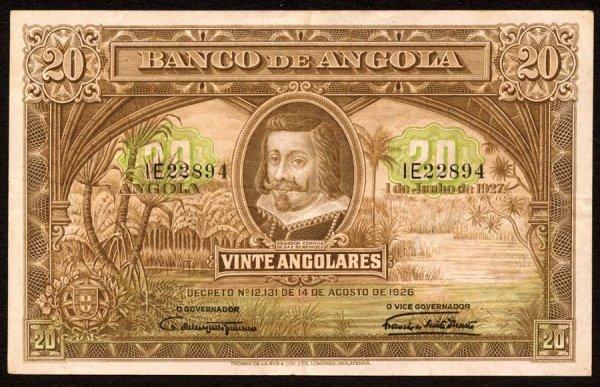 1010: Angola, BancodeAngola, 7320Angolares