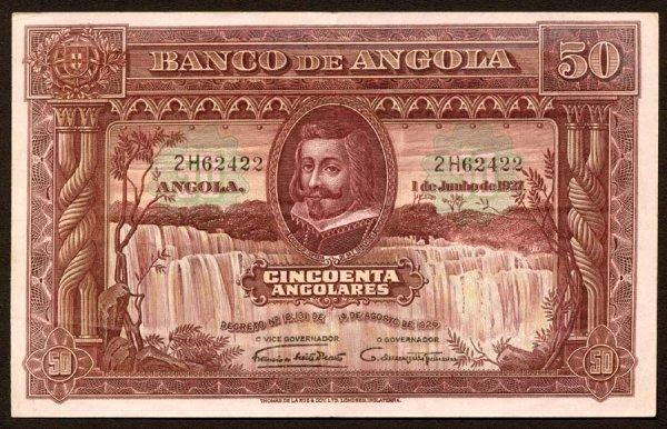 1011: Angola, BancodeAngola, 7450Angolares
