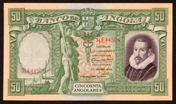 1012: Angola, BancodeAngola, 8050Angolares