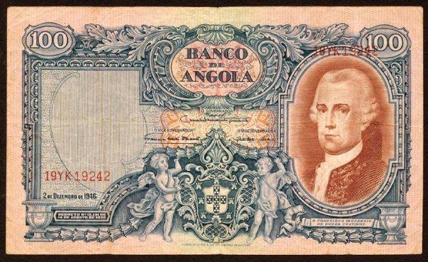 1013: Angola, BancodeAngola, 81100Angolares