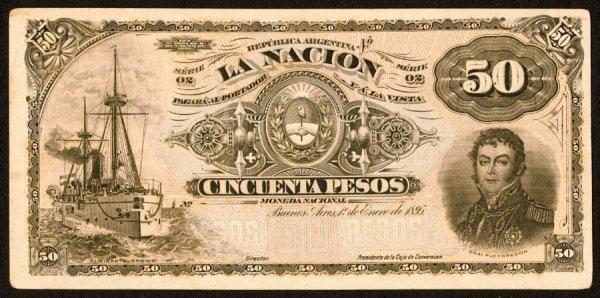 1018: Argentina, BancodelaNacionArgentina, 223?