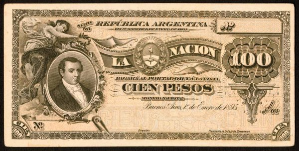 1019: Argentina, BancodelaNacionArgentina, 224?