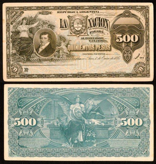 1021: Argentina, BancodelaNacionArgentina, 226?