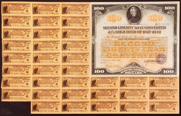 2006: $100SecondLibertyLoanConvertedGoldBondo