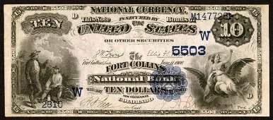 4241: Colorado�, Fort�Collins,�NB,�5503�, Fr.�545����$1