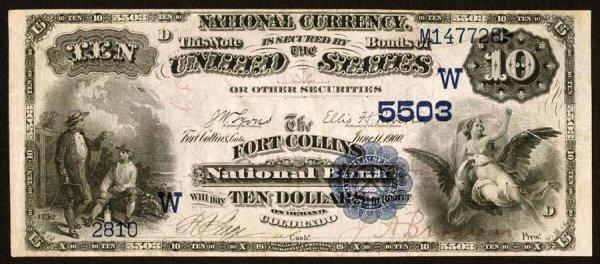 4241: Colorado, FortCollins,NB,5503, Fr.545$1