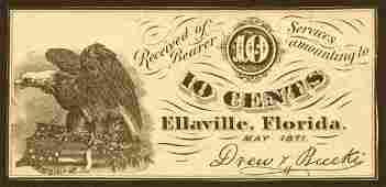 122: Florida�   10�����Ellaville�   R-7.�May�1871.�Drew