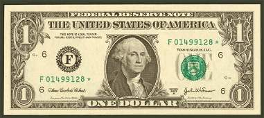 1187: Federal Reserve Notes $1 2003-A* F At