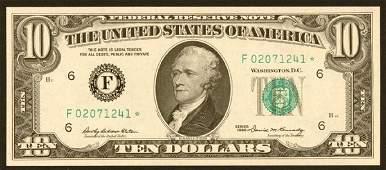1241: Federal Reserve Notes $10 1969* F Atl