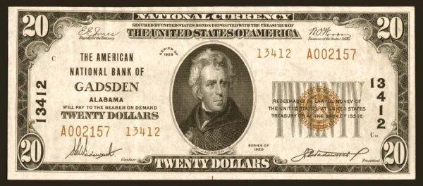2001: Alabama- Gadsden,AmericanNB,13412