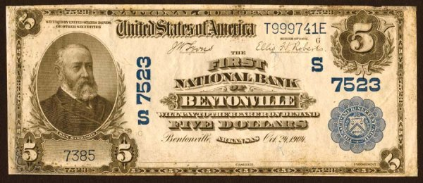 2005: Arkansas- Bentonville,FirstNB,S7523