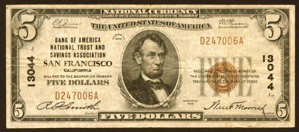 2017: California- SanFrancisco,BankofAmericaNatio