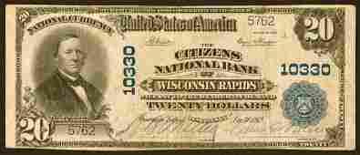 3902: Wisconsin�- Wisconsin�Rapids,�Citizens�NB,�10330�