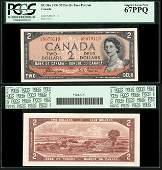 67aBC30a    2 Dollars    1954
