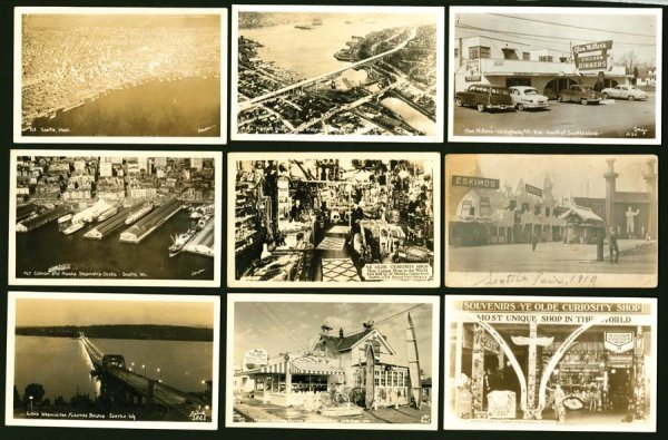 870A: Views, U.S.A., Washington, SeattleRPPC, Impre