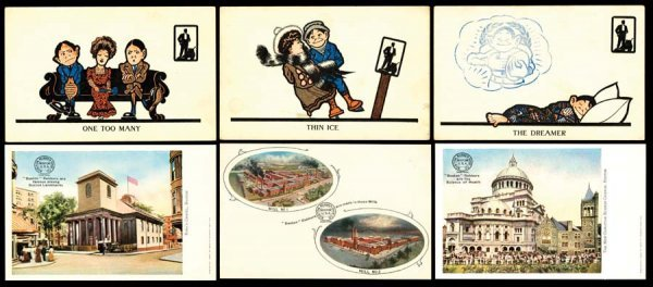 965A: Printed, Advertising, Early, WalkOverShoes,