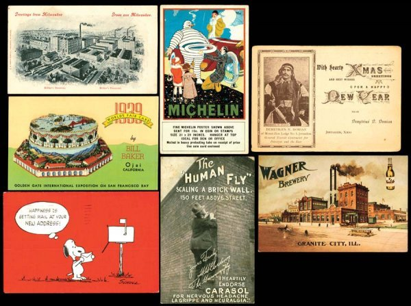 966A: Printed, Advertising, Early, Brewery,Michelin