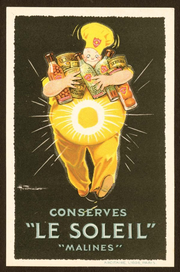 968A: Printed, Advertising, Early, EuropeanPosterS