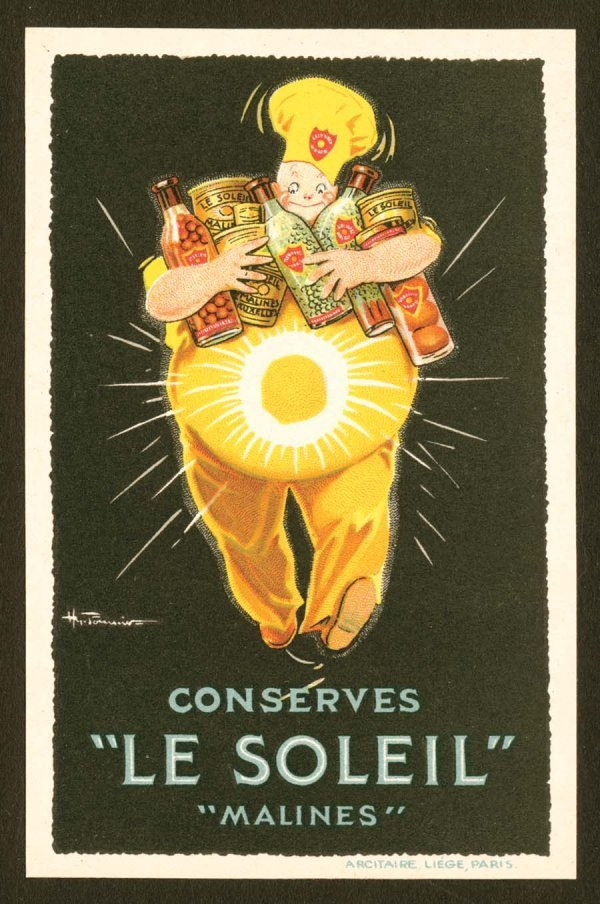 969A: Printed, Advertising, Early, EuropeanPosterS