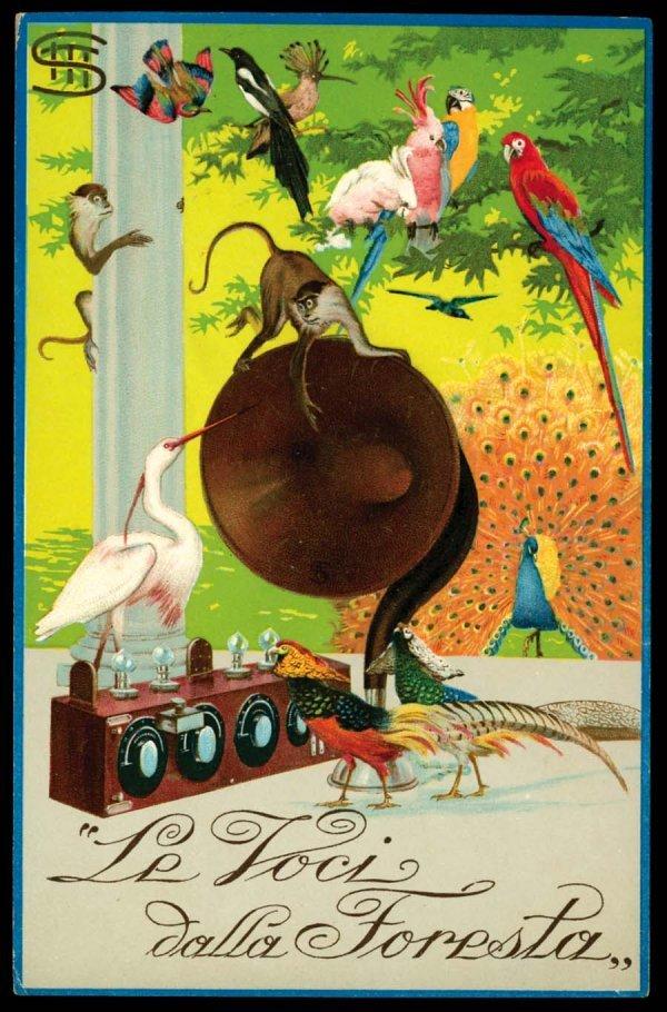 973A: Printed, Advertising, Early, RadioAdvertising