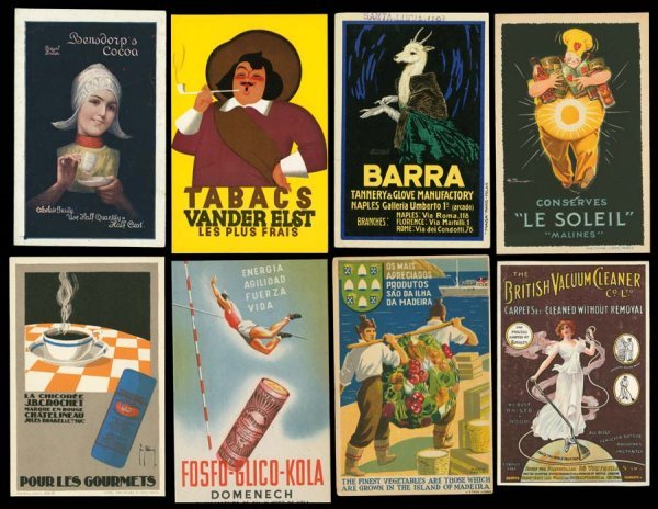 986A: Printed, Advertising, Early, ForeignPosterAr