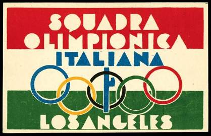 2345A: Sports�, Sports-Misc�, Olympics,�1932�, 1932�Oly