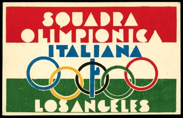 2345A: Sports, Sports-Misc, Olympics,1932, 1932Oly