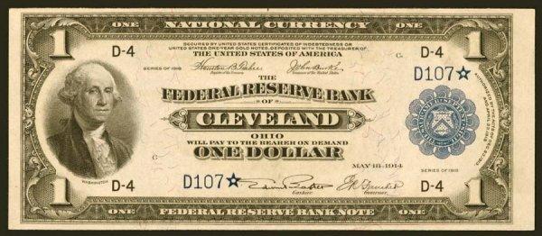 13: FRBN- Fr.718*$11918Cleveland