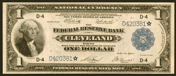 14: FRBN- Fr.720*$11918Cleveland