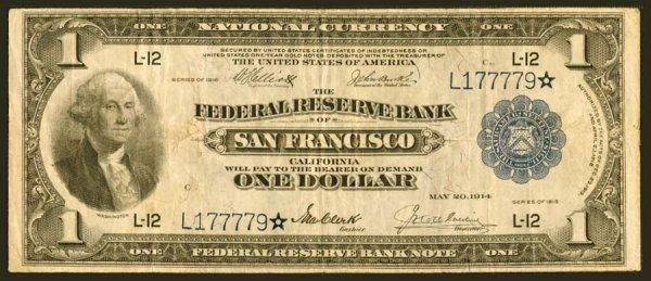 19: FRBN- Fr.745*$11918SanFrancisco