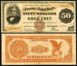 467: GC�- Fr.�1190����$50����1882�