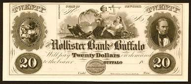 1025: NY- G14����$20����Hollister�Bank�of�Buffalo�
