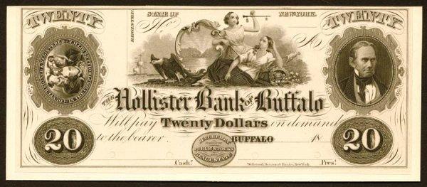 1025: NY- G14$20HollisterBankofBuffalo