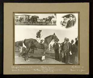 Original Winner's Circle Photograph of Billy Jones,
