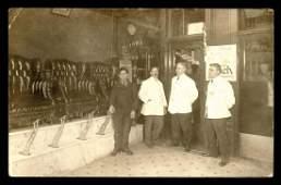 RPPC - Occupations - owa Barbershop, Barbers and Shoe
