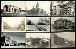 RPPC - USA Views - Iowa Street Scenes and Views
