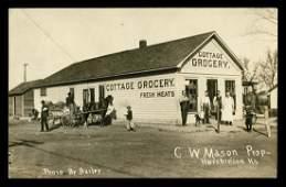 RPPC - USA Views - Hutchinson, KS Grocery