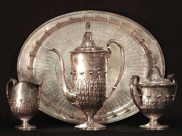 193: Tiffany & Co. Sterling Tea Service