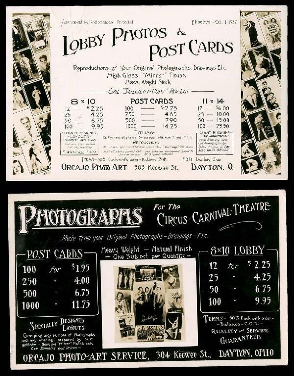 "7: RPPC""PhotosForSale""Advertising"