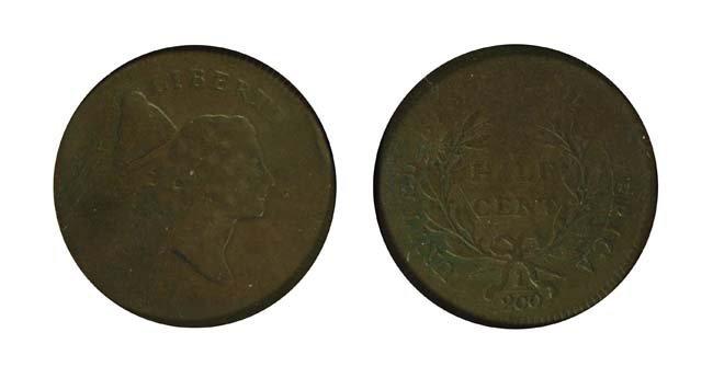 1795 1/2 Cent