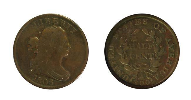 1803 1/2 Cent